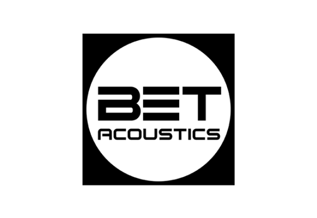 logotipo bet acoustics